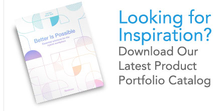 Looking for inspiration? Download our latest product portfolio catalog