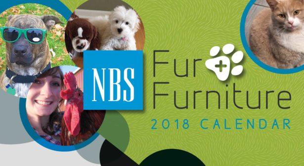 NBS Fur + Furniture 2018 Calendar
