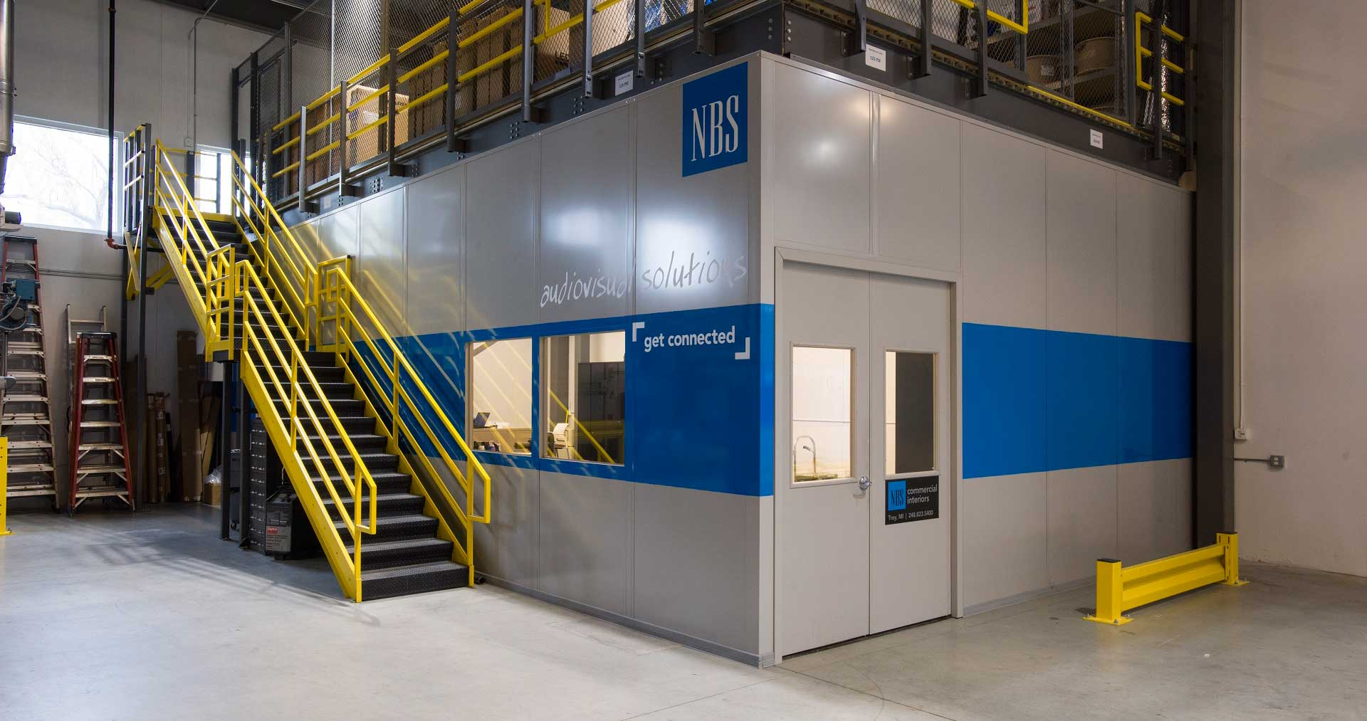 NBS Construction Modular Rooms Mezzanine
