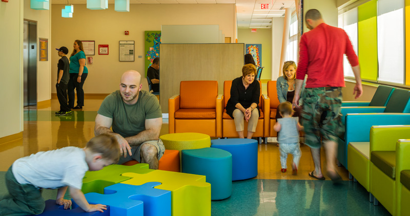 DMC Children's Hospital, | NBS Commercial Interiors