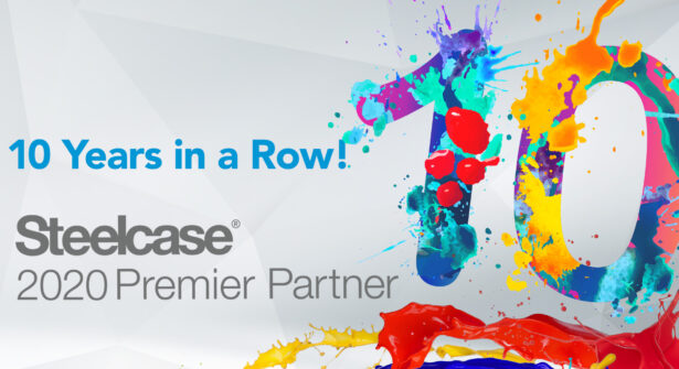 NBS is a Steelcase Premier Partner for 10 Years in a row.