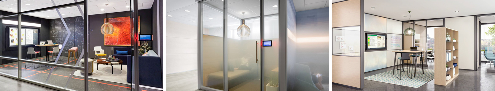 NBS Steelcase Media Walls Examples
