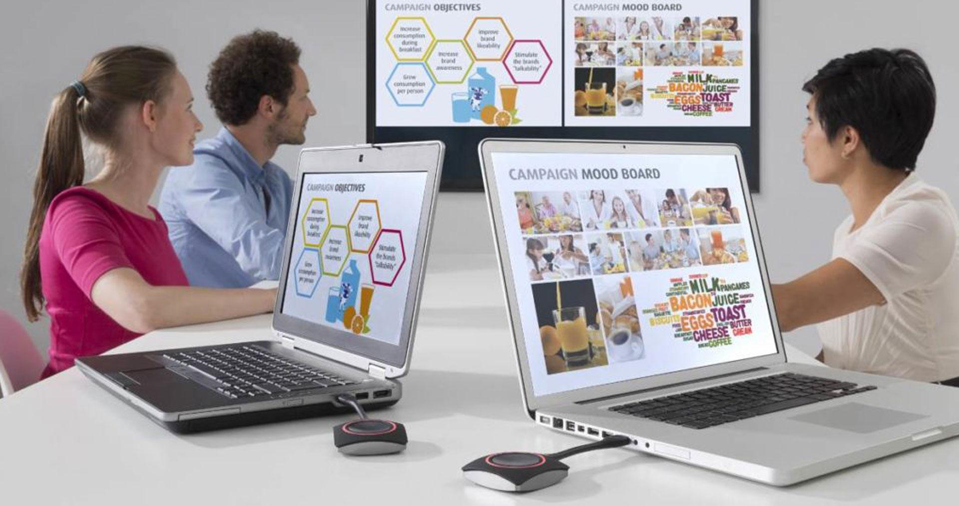 Barco ClickShare Collaboration Tools