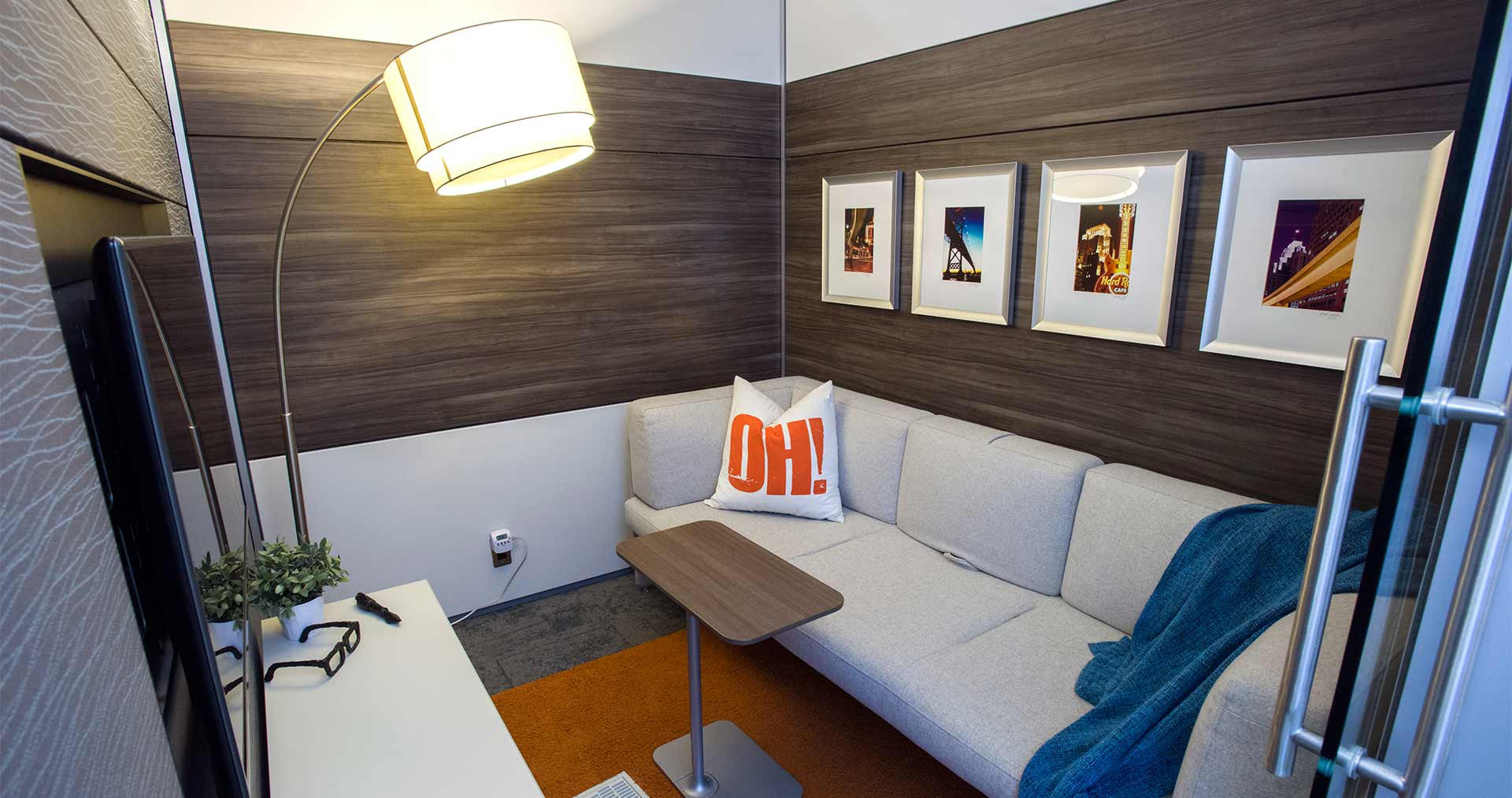 NBS Quiet Spaces Rooms