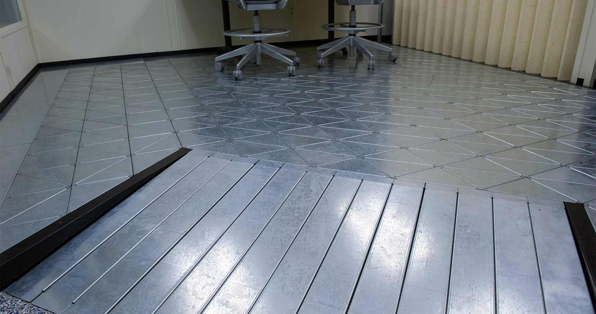 NBS Construction Raised Floors Modular Power Access Flooring