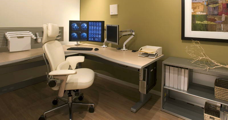 Radiology Reading Rooms Nbs Commercial Interiors