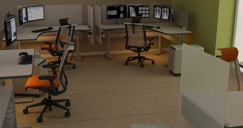 Reading Room Design Radiology