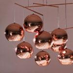NBS Tom Dixon Copper Round Pendant