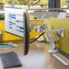 NBS Volley Flat Panel Arm