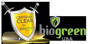 Biogreen USA logo