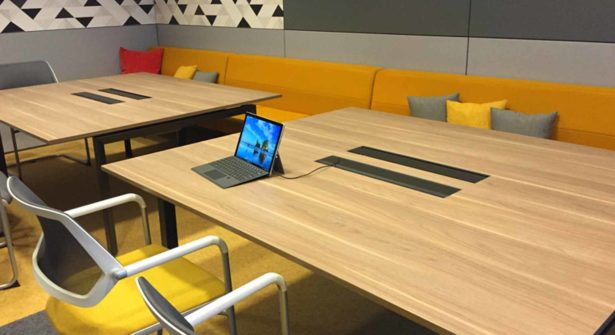 NBS NeoCon Review Retro Residential and Collaboration Space